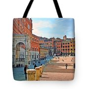 Tuscany Town Center Tote Bag