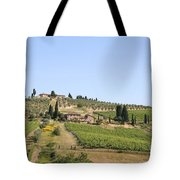 Tuscany Vineyard Tote Bag