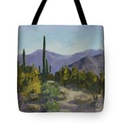 The Serene Desert Tote Bag