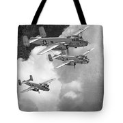 Tuskegee Airman...616th Bombardment Group Tote Bag