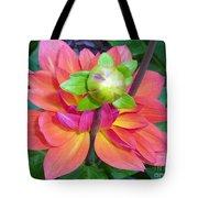Tutu Dancer Flower Tote Bag