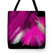 Tutu Stage Left Abstract Fuchsia Tote Bag