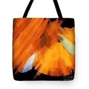 Tutu Stage Left Abstract Orange Tote Bag