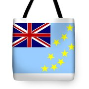 Tuvalu Flag Tote Bag