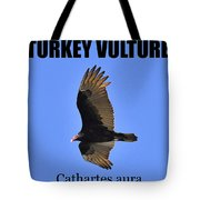 Turkey Vulture Educational Tote Bag