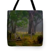 Twas Indeed A Mystical Morning Tote Bag