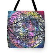 Tween The Branches Tote Bag