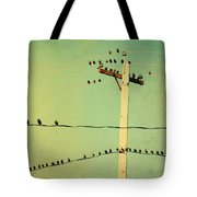 Tweeters Tweeting Tote Bag