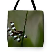 Twelve Spotted Skimmer Tote Bag