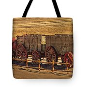 Twenty-mule Team In Sepia Tote Bag