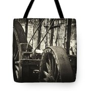 Twenty Mule Team Ore Wagon Tote Bag