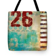 Twenty-six Stripes Tote Bag