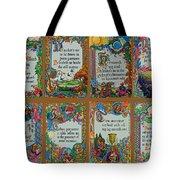 Twenty Third Psalm Collage Tote Bag