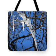 Twigs And Ice Tote Bag