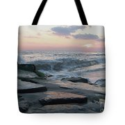 Twilight At Cape May In October Tote Bag