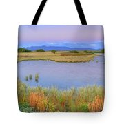 Twilight At Whitewater Draw Tote Bag
