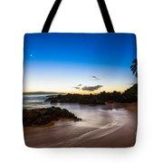 Twilight Beach - Beautiful And Secluded Secret Beach In Maui. Tote Bag