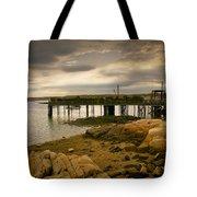 Twilight Cape Porpoise Maine Tote Bag