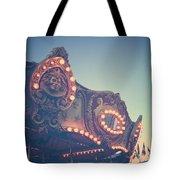 Twilight Carnival Ride Tote Bag