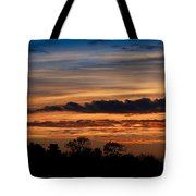 Twilight Colorful Sunset Tote Bag
