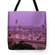 Twilight, Florence, Italy Tote Bag