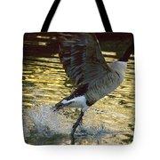 Twilight Goose I Tote Bag
