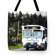 Twilight In Forks Wa 1 Tote Bag