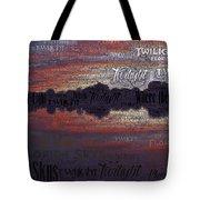 Twilight In Pasco Tote Bag