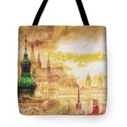 Twilight In Praha Tote Bag
