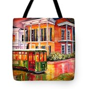 Twilight In The Garden District Tote Bag