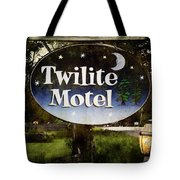 Twilight Motel Tote Bag