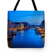 Twilight On The Grand Canal Tote Bag