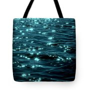 Twilight On The Waters Tote Bag