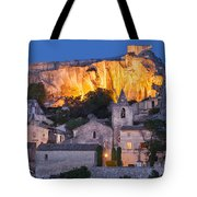 Twilight Over Les Baux Tote Bag