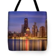 Twilight Reflected Tote Bag