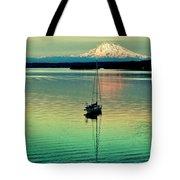 Twilight Sail Tote Bag