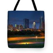 Twilight Skyline Tote Bag