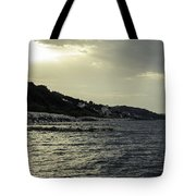 Sunset On The Beach - Twilight Symphony Tote Bag
