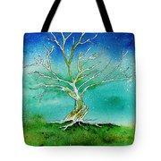 Twilight Tree Tote Bag