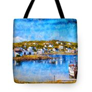 Twillingate In Newfoundland Tote Bag
