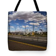 Twin Arrows Trading Post Tote Bag