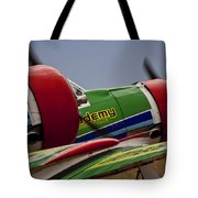 Twin Blades Tote Bag