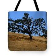 Twin California Oaks Tote Bag by Jeff Lowe