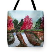 Twin Falls Tote Bag