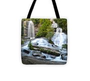 Twin Falls Flows Forth Tote Bag
