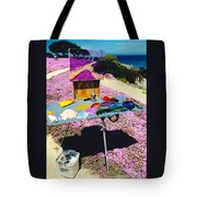 Oceanview Pinks Tote Bag