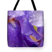 Twin Iris Tote Bag