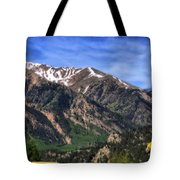Twin Lakes Colorado Tote Bag