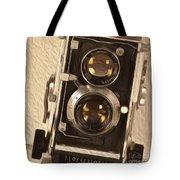 Twin Lens Reflex Redux Tote Bag