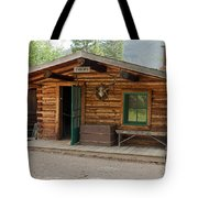 Twin No. 1 Cabin At The Holzwarth Historic Site Tote Bag